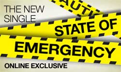 The new single: State of Emergency